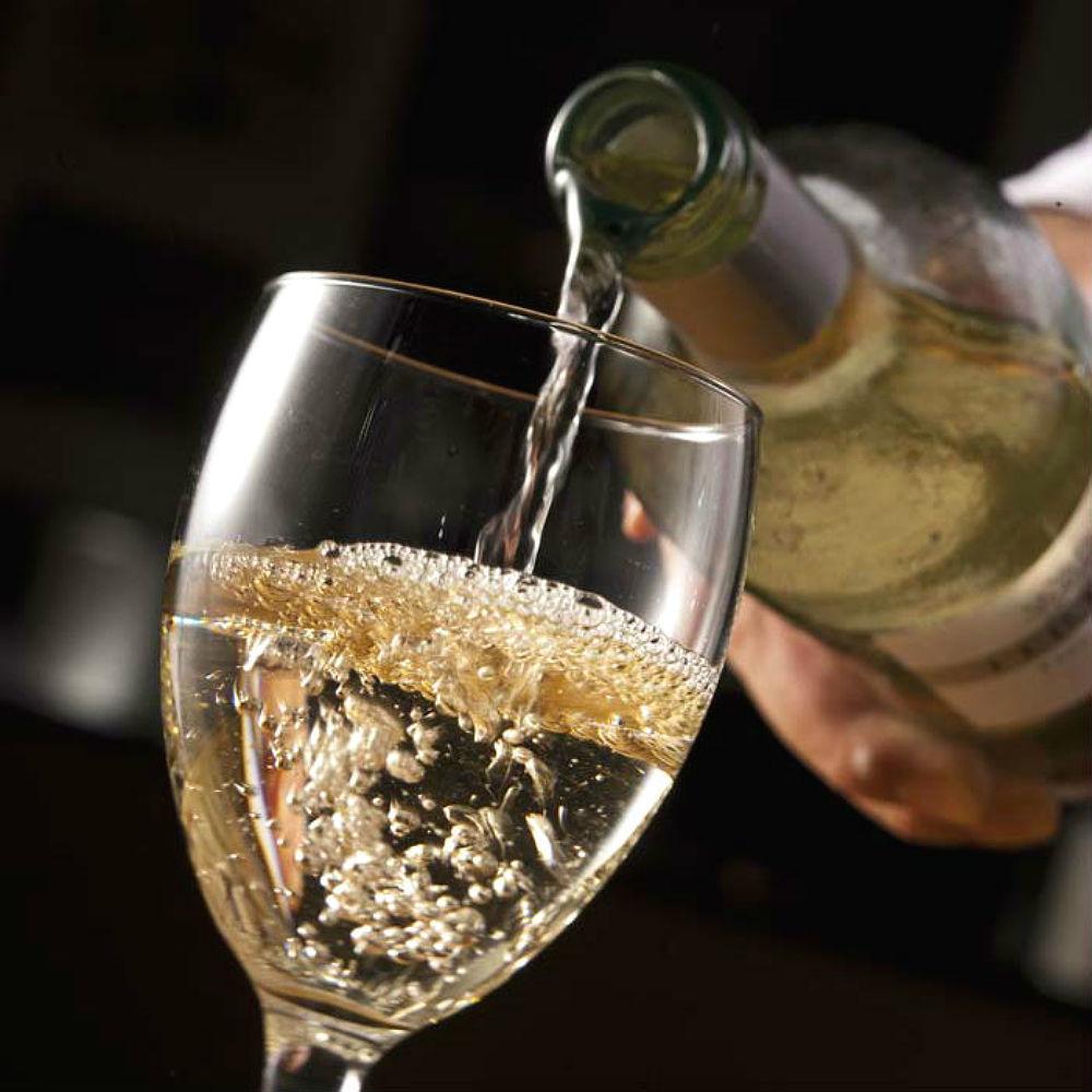 Abundant variety of wines