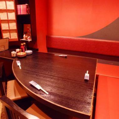 在私人房间的座位☆因为是尽快受欢迎的座位♪预订♪