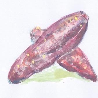 さつま芋のカリカリ揚げ