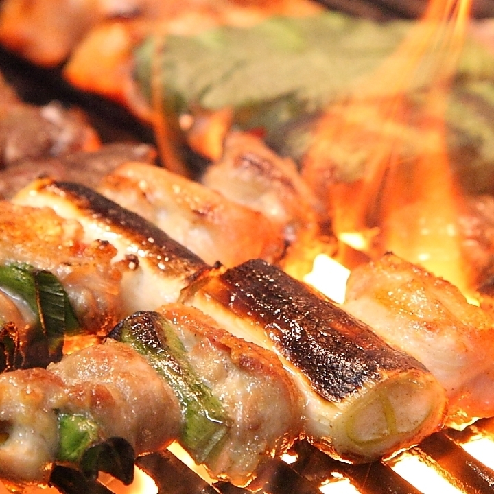 All-you-can-eat yakitori ♪