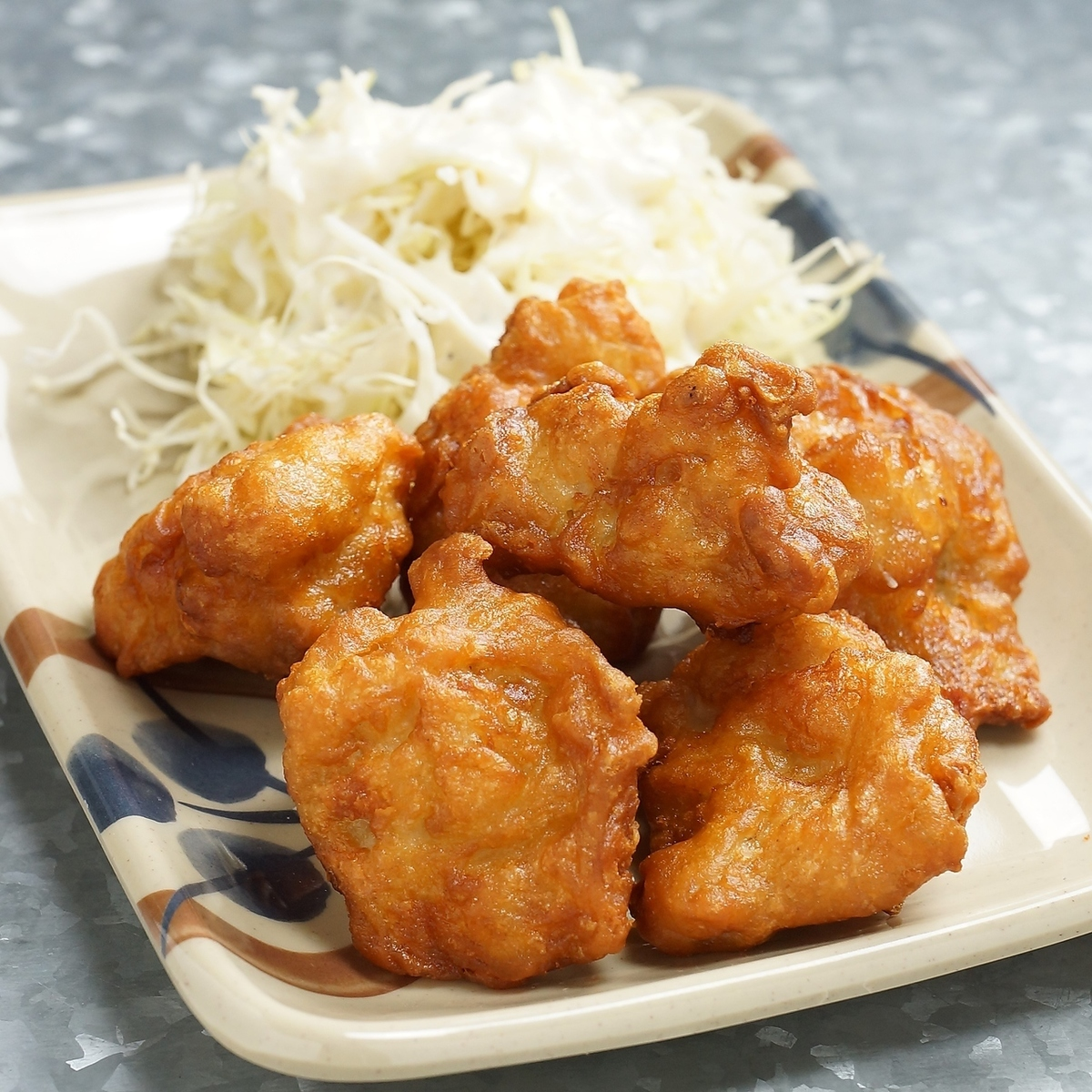 Deep-fried delicious yakitori shop