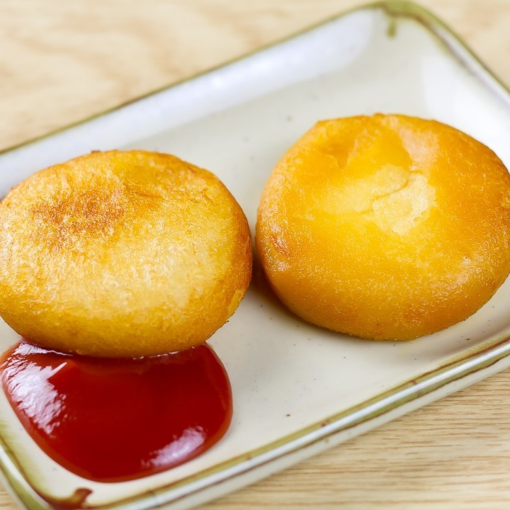 Potato cheese rice cake