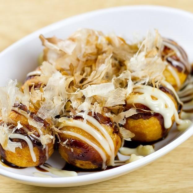 Osaka specialty! Takoyaki