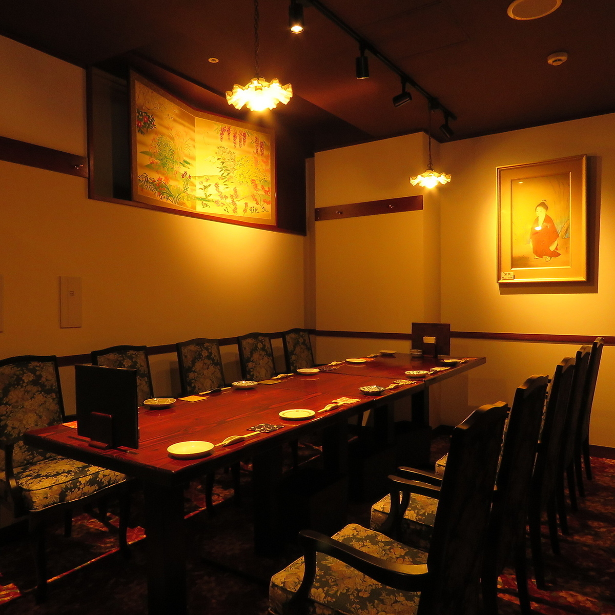 [Banquet seat] Private room for 6 to 10 people