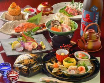엄선 회석 [晩翠] 요리 만 11 종 8000 엔 (세금 포함)