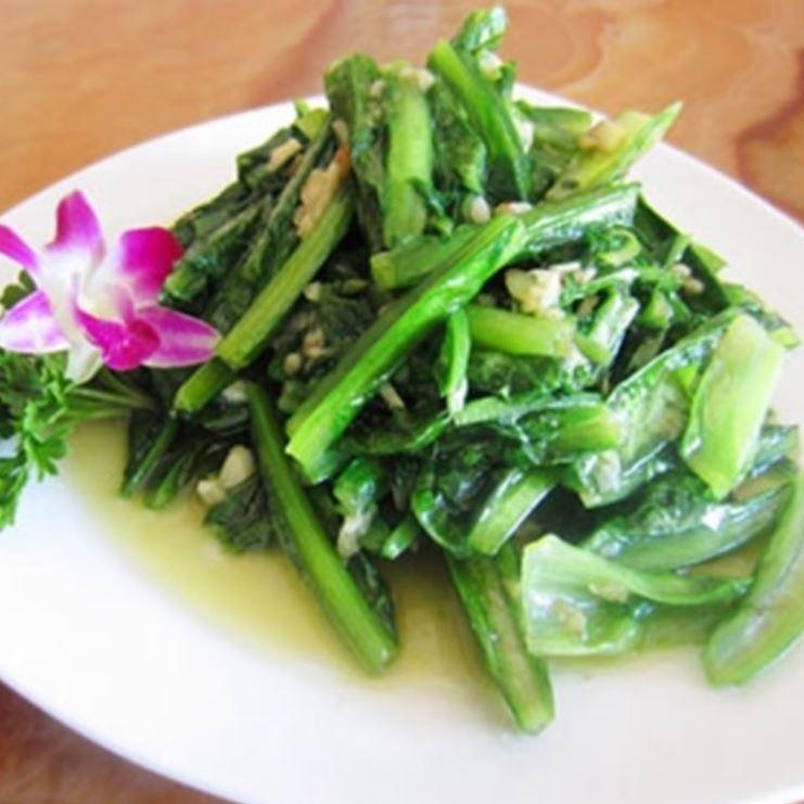 Stir-fried garlic of A Taiwanese Taiwan