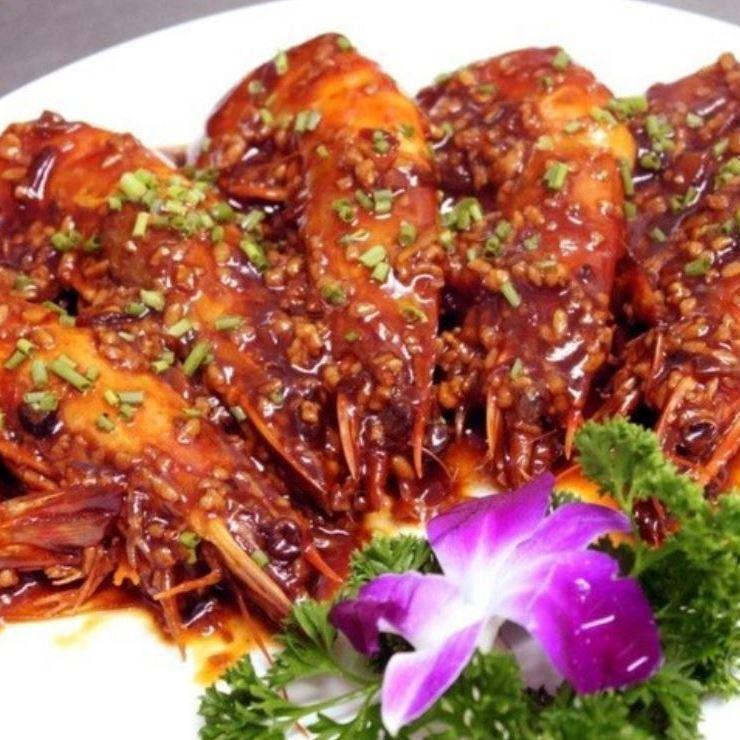 Head shrimp Chile