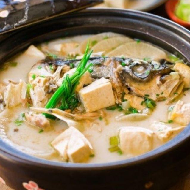 물고기 고추 수프