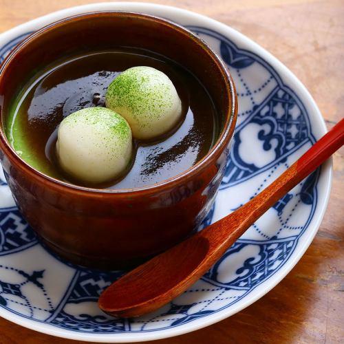 緑茶プリン