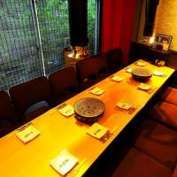 <3F:掘りごたつ>窓際の掘りごたつ席はご宴会に最適!11名様までご利用いただけます!
