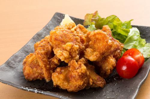 大人気鶏屋の本気の鶏の唐揚げ