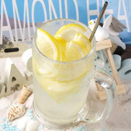 丸ごと冷凍レモンサワー