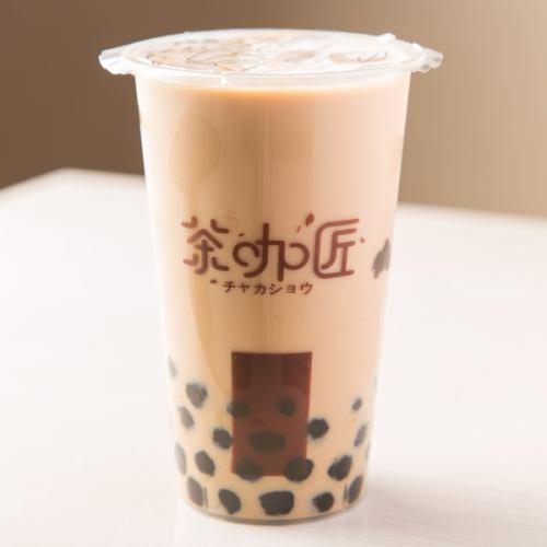 当店一番人気【紅茶タピオカミルクティー】