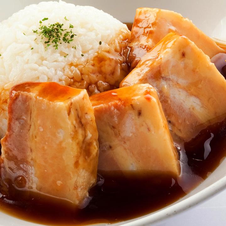 【限定20食】じっくり煮込んだ ラフテー丼セット