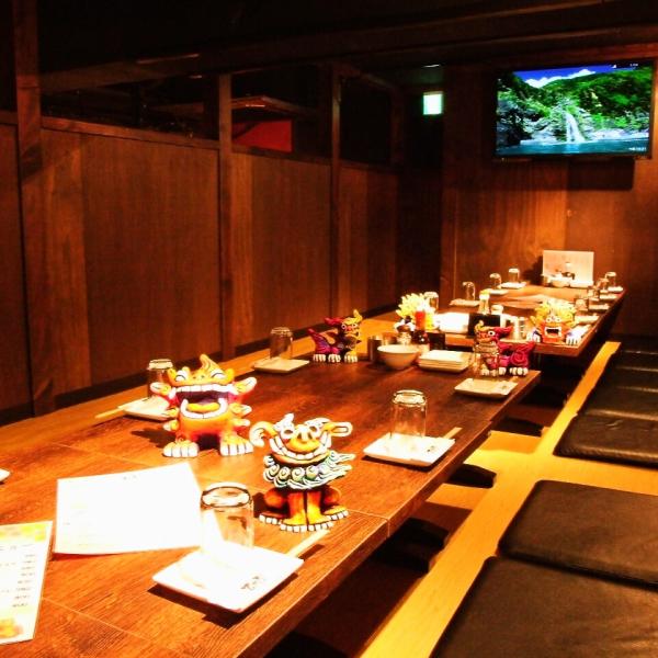 在挖被炉式包房,请自由享受优惠!冲绳的美食享受冲绳度假区心情!喜欢和大家一起堆放☆你可以喝的当然是2小时到悠然3小时!宴会为2至70命名一样OK!我们当然都配备私人空间!当然还有各种可用的!请随时根据自己的预算与我们联系!