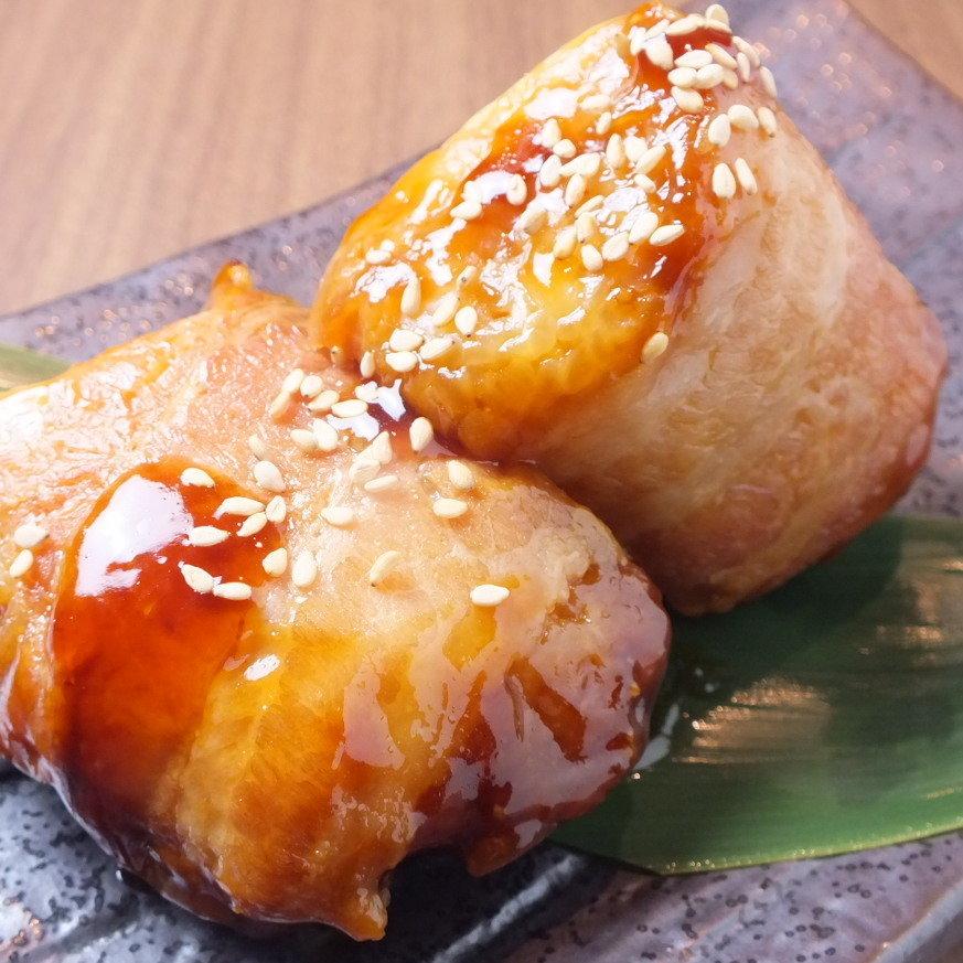 Miyazaki specialty! Meat wrapped rice ball (1 piece)