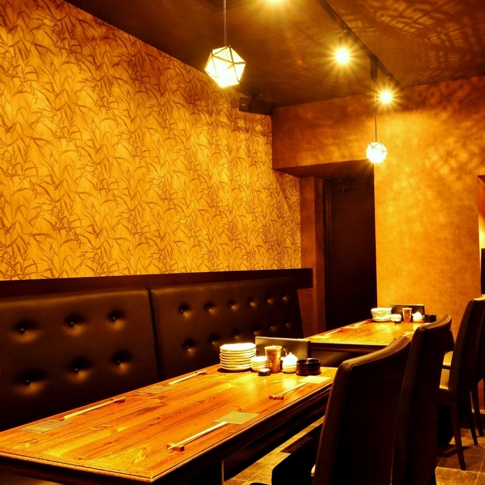 【Reservation system】 Private room can be reserved for 10 people or more ※ Maximum of 15 people