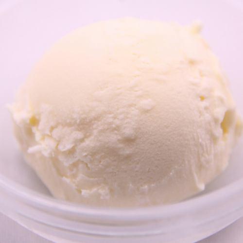 バニラアイス・ゆずシャーベット