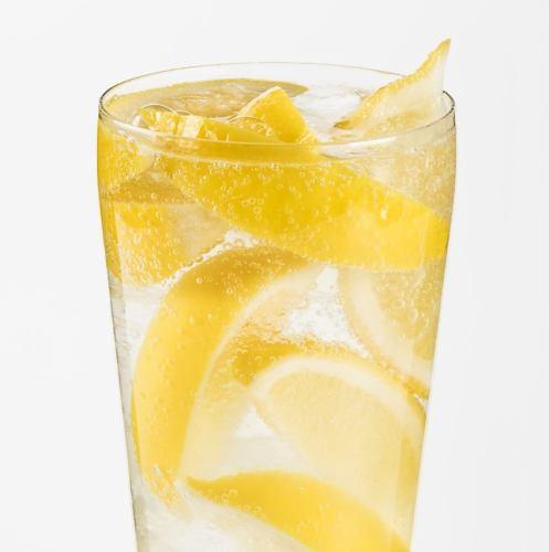 凍らせレモンサワー 450円