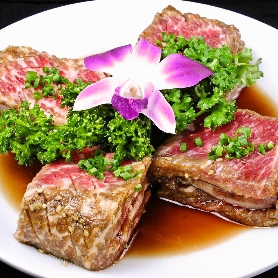 Eating in Akasaka, authentic Korean food