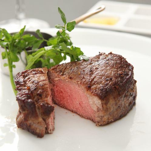 牛フィレ肉とオマール海老のWメイン スペシャリテランチコース 全5品 5500円