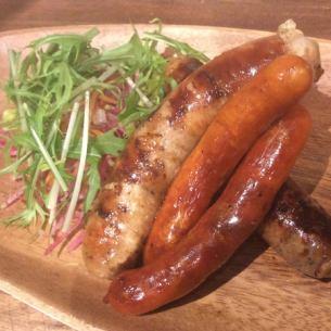 Sausage grill plain / herb / chorizo