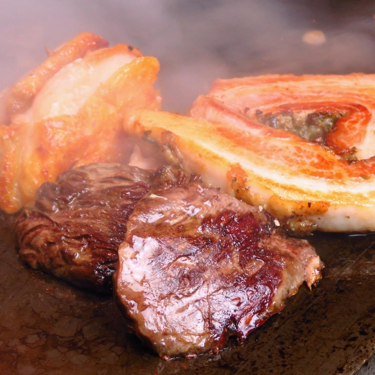 おいしい肉あります!