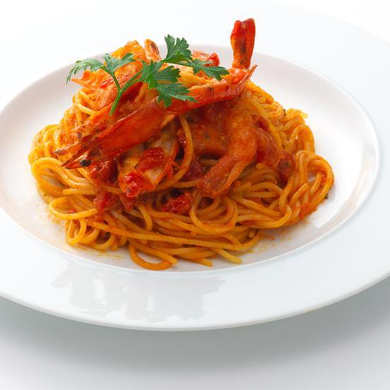 Prawn shrimp pomodoro ~ shrimp tomato sauce ~