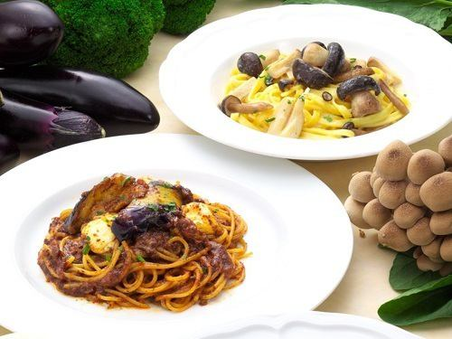Thanks to the blessings of the earth ♪ You can taste thoroughly Autumn Pasta New appearance!