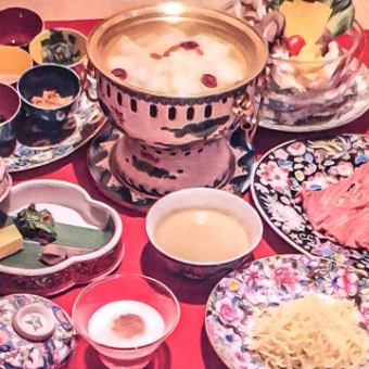 [Beauty pot] All 5 dishes 6000 yen ~