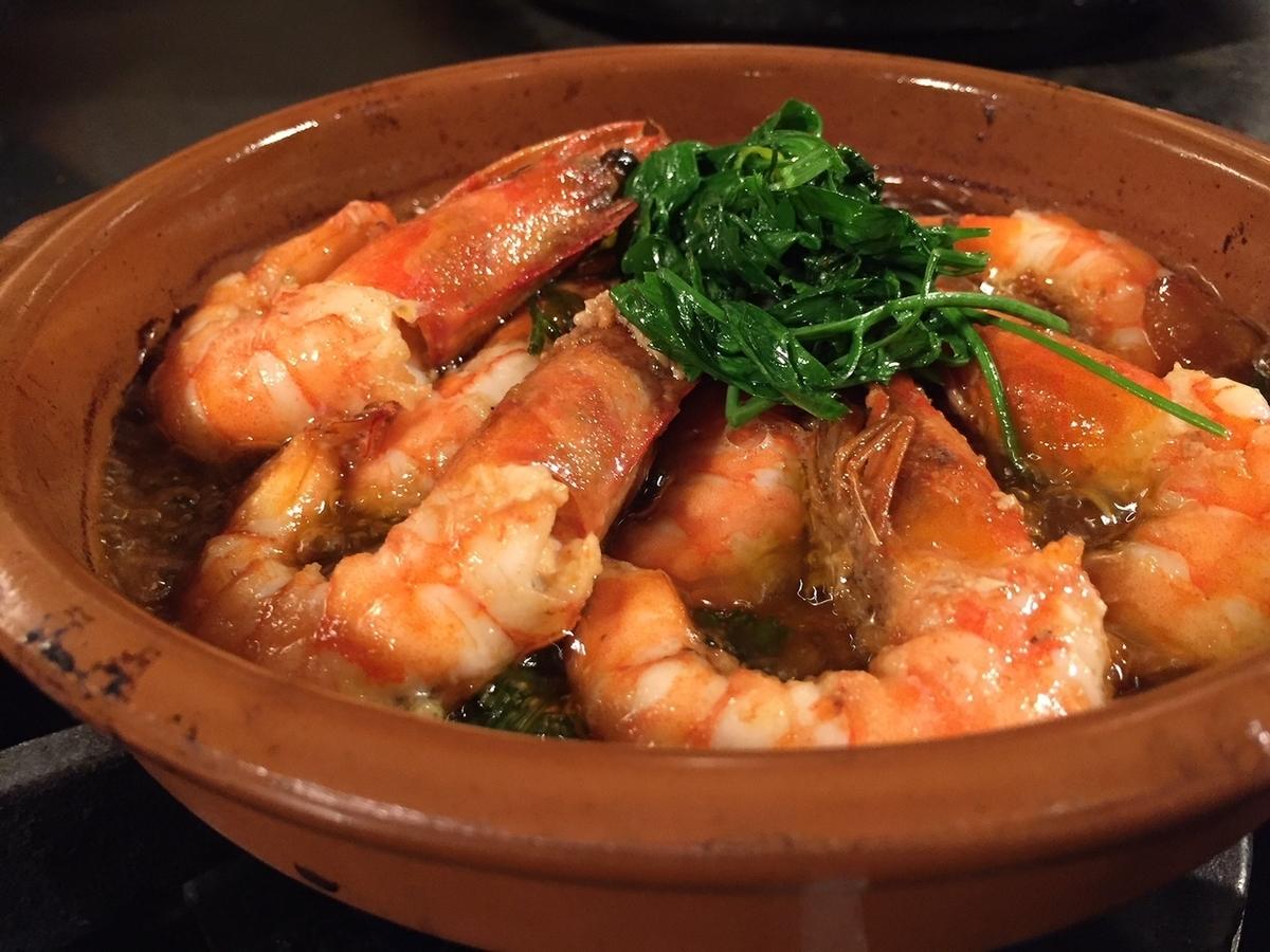Kauai shrimp ahijo