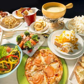 ☆ 180 minute drink unlimited ☆ Proficient W fondue ☆ Women's Association Standard Course 3500 yen ☆