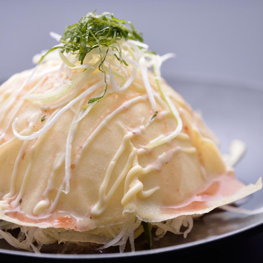 パリパリドームの 大根サラダ