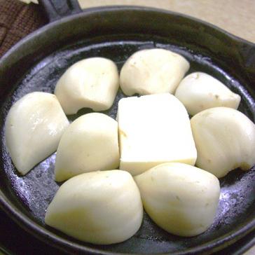 無臭ニンニクのバター焼