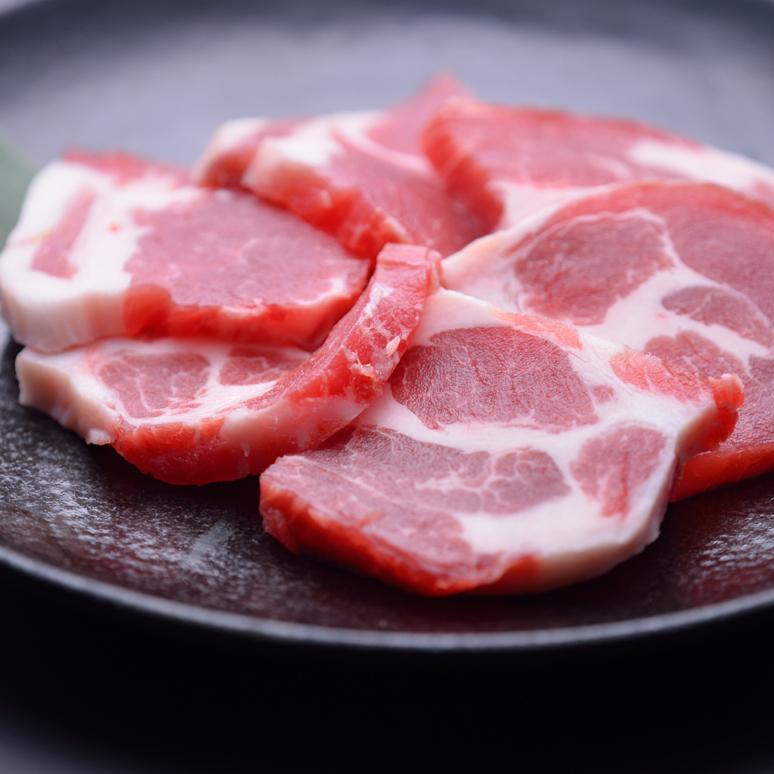 広島県産もみじ豚のカルビ/広島県産もみじ豚のロース