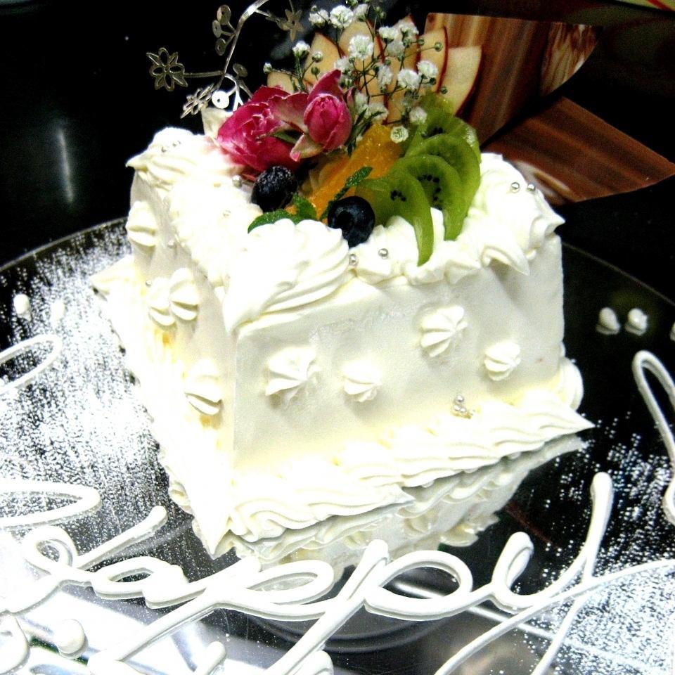 2名個室完備…クーポンで特製ホールケーキプレゼント♪