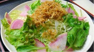 Crisp crunchy salad