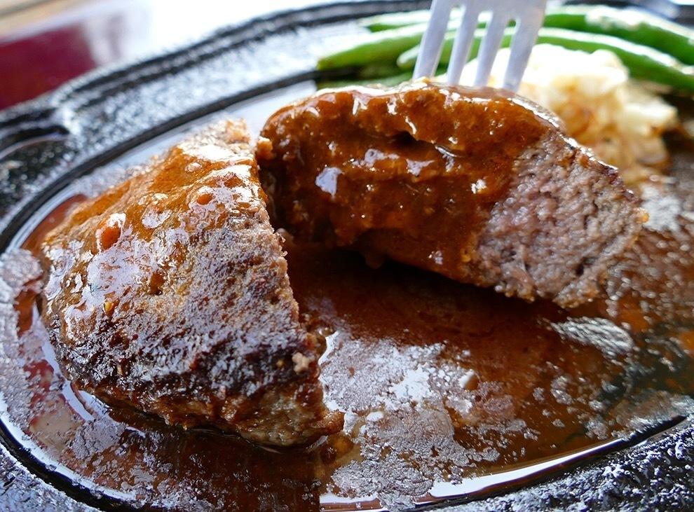[A5ランク]千屋牛肉100%ハンバーグステーキ定食