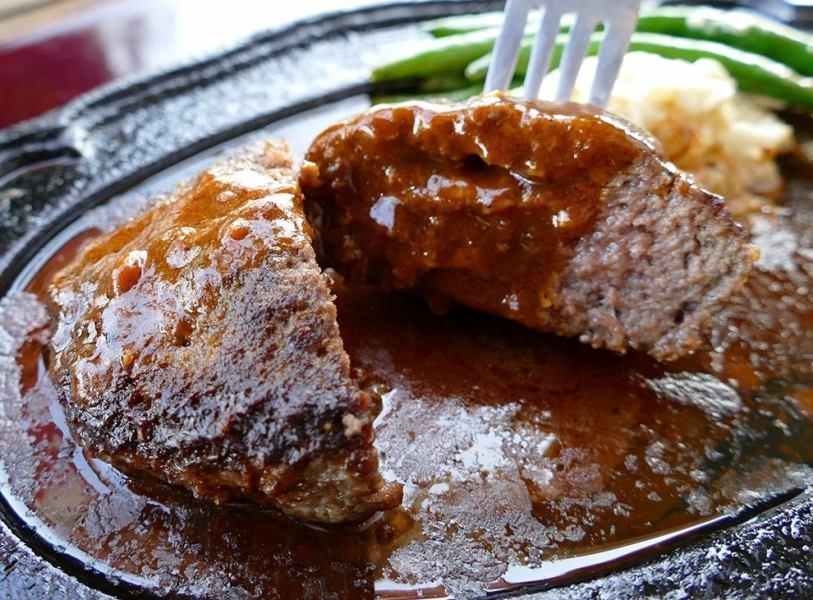 「千屋(ちや)牛肉100%200gハンバーグステーキセット」A5・4ランクブランド黒毛和牛「千屋牛肉」100%☆