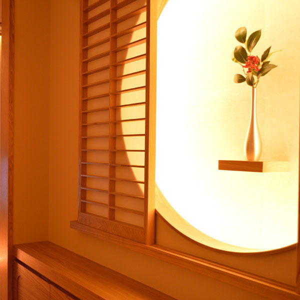 It is the entrance part of one room.Calm down in a pure Japanese atmosphere.Birthday · Please celebrate ♪ Please select carefully selected ingredients ♪ Dating popular rooms Please reserve as soon as possible! We are preparing banquet plans and anniversary birthday plans to suit various scenes ★ Come on ★