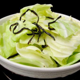 鹽醬油白菜