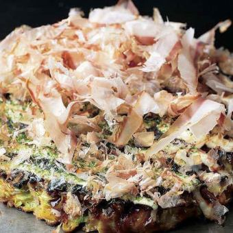 Okonomiyaki (pork ball)