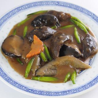なまこと季節野菜の煮込み(多少お時間がかかります)
