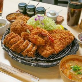 [Popular !!] Hayashi SPF pork tonkatsu lunch