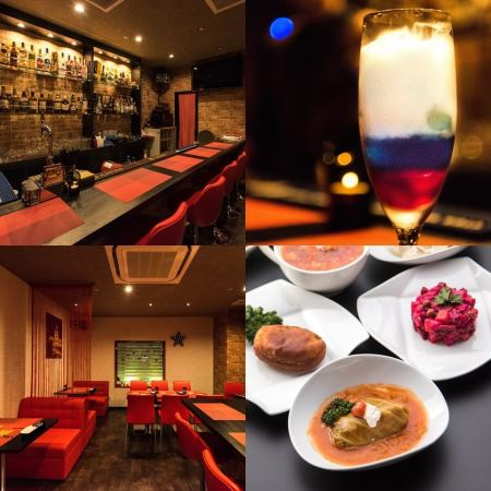 """Matryoshka Russian Dining Bar Nagoya"" opened in June ☆ Access in Nishiki area ◎"