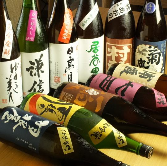 ☆ enjoy more delicious casual all over the country more than 30 kinds of sake [Japanese Sake Bar] perfect shop girl society ☆