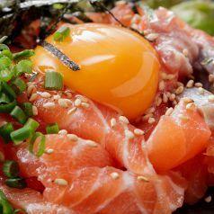 Cool / Takawasabi / Toro salmon and yam yoke