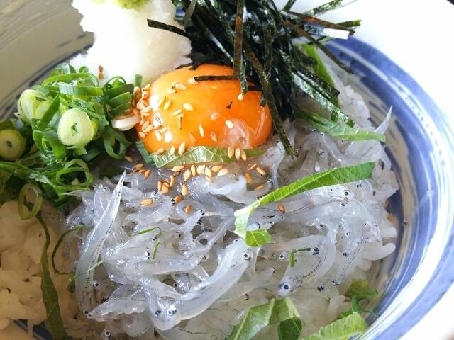 Plum Shiso Miscellaneous Food / Chicken Miscellaneous / Snapper Dashi Chazuke / Soundless Production Shirasu Bowl / Snaen Soup