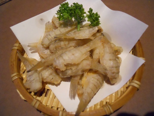 Shito production Shirasu / Nebuto fried fried / cucumber tempura / Dako tempura /