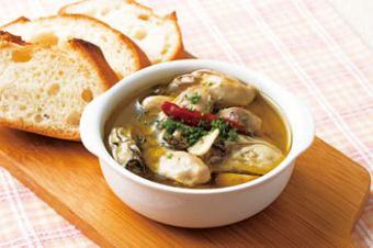 广岛牡蛎天妇罗/牡蛎番茄焗/牡蛎Ahyejo /八木Pot牡蛎
